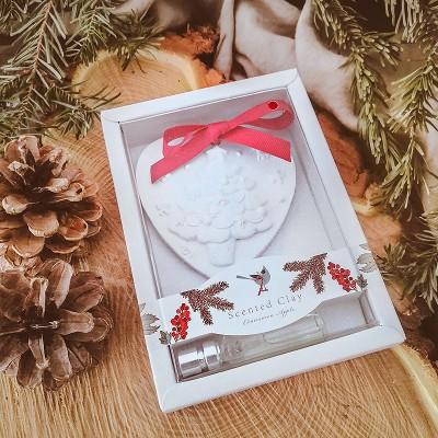PREZENT świąteczny firmowy ozdoba zapachowa Choinka