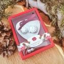 PREZENT świąteczny firmowy ozdoba zapachowa Szyszki