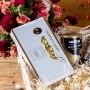 ZESTAW świąteczny w skrzyni PREMIUM GOLD Moët, Lavazza, Lindt