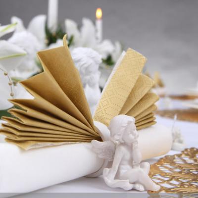 OBRĄCZKA NA SERWETKĘ świąteczną Zamyślony Aniołek