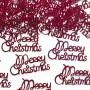 KONFETTI dekoracyjne Merry Christmas