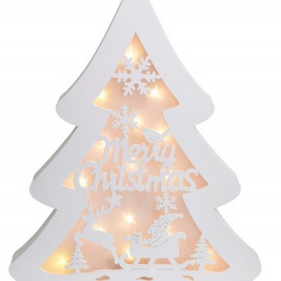 CHOINKA ledowa Merry Christmas 37cm