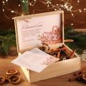 ZESTAW ŚWIĄTECZNY w skrzyni Rodzinne Święta Z LOGO