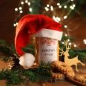 MIÓD Z CZAPKĄ na firmowy prezent świąteczny Mikołajowa Czapka Z LOGO 1kg
