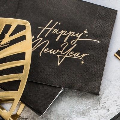 SERWETKI Happy New Year 33x33cm 20szt