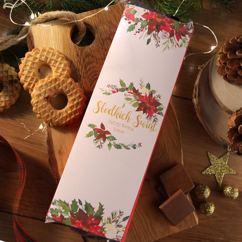 Mega czekolada w świątecznym opakowaniu