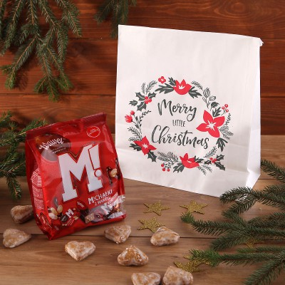 ZESTAW świąteczny słodki w torbie Michałki z Wawelu