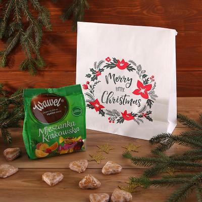 ZESTAW świąteczny słodki w torbie Mieszanka Krakowska