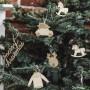 ZAWIESZKI do prezentów świątecznych Naturalne MIX 10szt