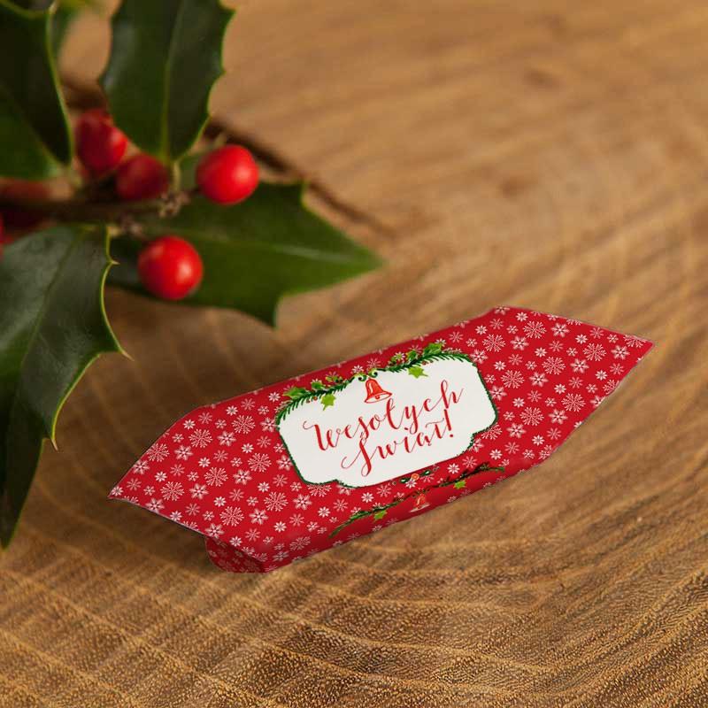 Krówki świąteczne na prezent