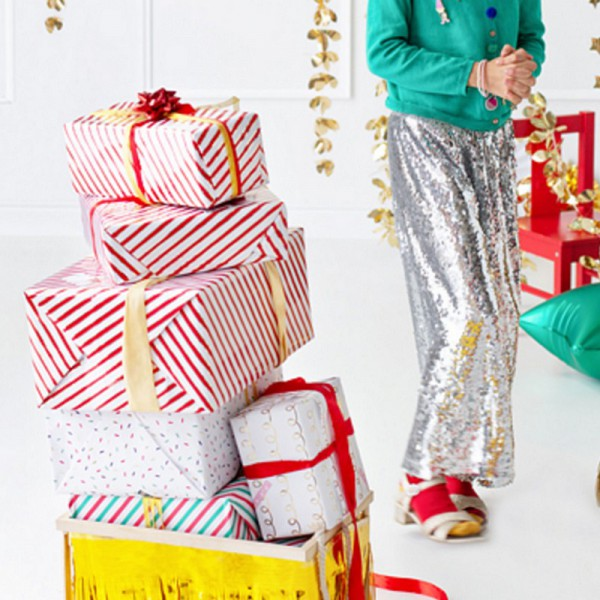 PAPIER do pakowania prezentów Paski 0,7x2m