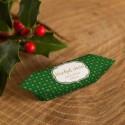KRÓWKI świąteczne firmowe Z NAZWĄ firmy Zielone Święta 20szt