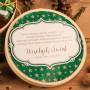 KOSZ prezentowy świąteczny firmowy w pudełku Z NAZWĄ Zielone Święta