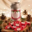 PREZENT świąteczny Kanka z krówkami Z NAZWĄ Czerwone Święta