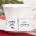 CZEKOLADKI świąteczne personalizowane Merry Christmas 10szt