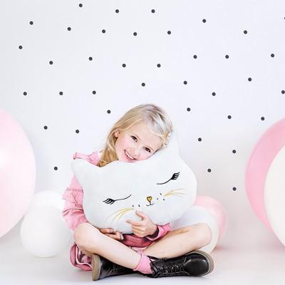 PREZENT świąteczny dla dziecka maskotka poduszka Kotek 42x32cm