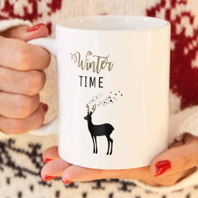 KUBEK świąteczny na prezent Winter Time