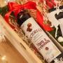 ZESTAW świąteczny w skrzyni Premium z kawą Rum z czekoladą Z TWOIM NADRUKIEM