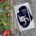 PREZENT świąteczny dla dziecka Pamiętnik Z IMIENIEM Astronauta 80 kartek w kratkę