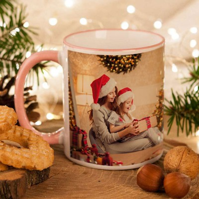 KUBEK na prezent świąteczny dla Mamy ZE ZDJĘCIEM
