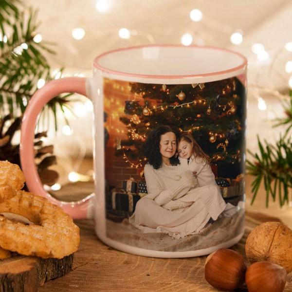 KUBEK na prezent świąteczny dla Babci ZE ZDJĘCIEM