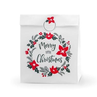 TOREBKI na prezenty Merry Christmas 3szt