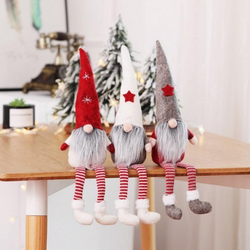 Skrzaty świąteczne do dekoracji domu