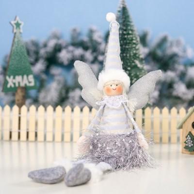 ANIOŁ świąteczny dekoracja świąteczna MEGA DUŻY 38cm