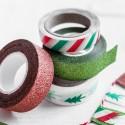 TAŚMY do pakowania prezentów Merry Christmas kpl 4szt