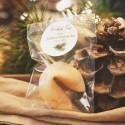 CIASTECZKA świąteczne z wróżbą Woodland PERSONALIZOWANE 10szt
