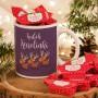 PREZENT świąteczny Kubek+krówki Z IMIENIEM Wesołe Renifery