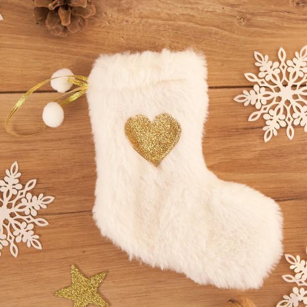 SKARPETA na prezent świąteczny dla dziecka Futrzana
