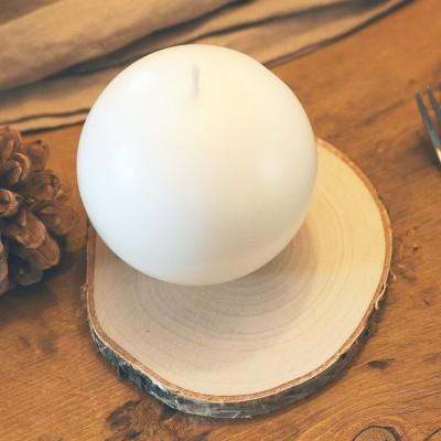KRĄŻKI naturalne drewniane do dekoracji 2szt
