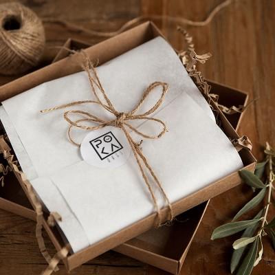 NAKLEJKI do prezentów świątecznych z logo Twojej firmy 28szt 4cm