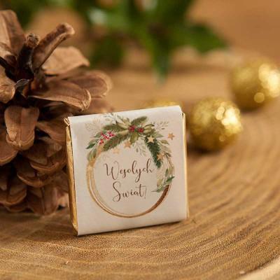 CZEKOLADKA świąteczna na prezent Świąteczny Nastrój