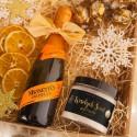 PREZENT świąteczny sól do kąpieli Z PODPISEM Eleganckie Święta