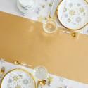 BIEŻNIK świąteczny flizelinowy obrus 40cmx10m ZŁOTY