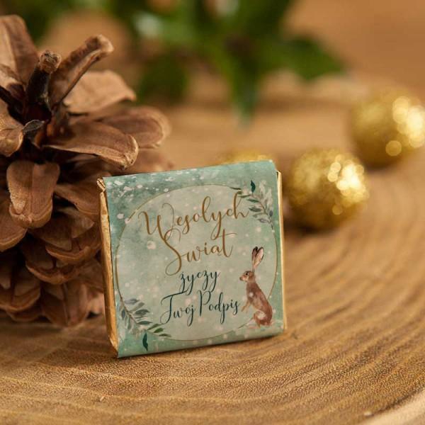 CZEKOLADKI świąteczne na prezent Wykwintne Święta 10szt