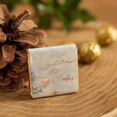 CZEKOLADKI świąteczne na prezent Magia Świąt 10szt