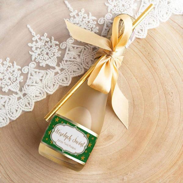 WINO MUSUJĄCE na prezent świąteczny Premium Zielone Święta Z TWOIM PODPISEM