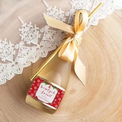 WINO MUSUJĄCE na prezent świąteczny Premium Czerwone Święta Z TWOIM PODPISEM