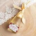 WINO MUSUJĄCE na prezent świąteczny Premium Poinsecja Z TWOIM PODPISEM