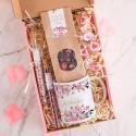 PREZENT świąteczny Box Z PODPISEM Kubek i herbata MAŁY