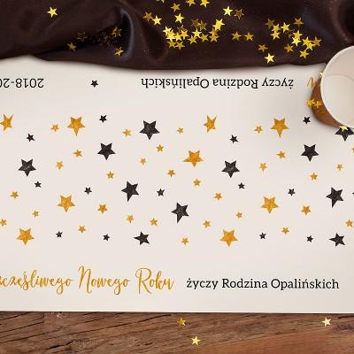 BIEŻNIK noworoczny personalizowany New Year 42cmx5m
