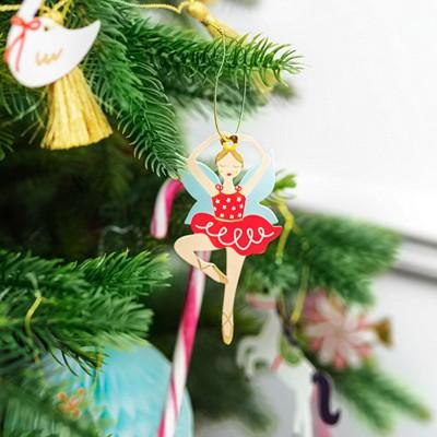 ZAWIESZKI do prezentów świątecznych i na choinkę Dziadek do orzechów 12szt