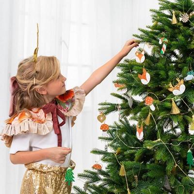 ZAWIESZKI do prezentów świątecznych i na choinkę Leśne Zwierzątka 12szt