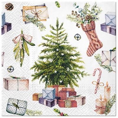 SERWETKI świąteczne Klasyczne Święta 33x33cm 20szt