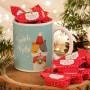 PREZENT świąteczny Kubek+krówki Z IMIENIEM All I want for Christmas