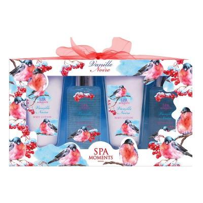 ZESTAW kosmetyków na prezent świąteczny dla kobiety Czarna Wanilia