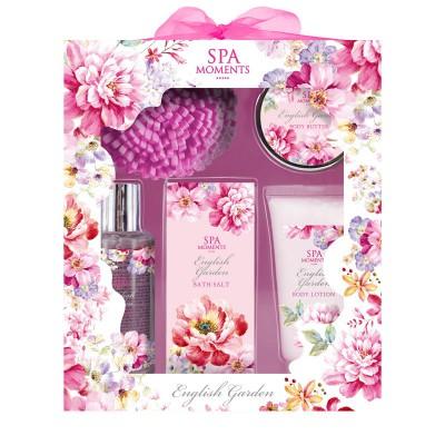 ZESTAW kosmetyków na prezent świąteczny dla kobiety Pink Garden
